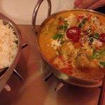 Lamb w coconut powder n curry