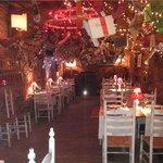 Uno degli ambienti del ristorante