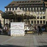 Carousel in Strasbourg.