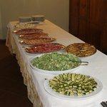 Qualcosa del buffet per battesimo