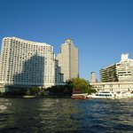 View of the hotel from the Shuttle Boat