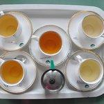 thé dégustation