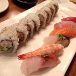 Sushi lunch combo at $18