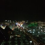 Night time view from room (Strip View King)