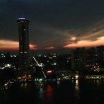 Night view sunset