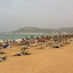beach at agadir