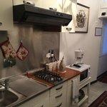 Cozinha comum funcional