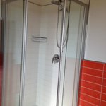 Great shower in the newly updated bathroom