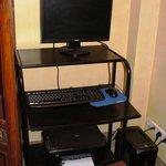 Postazione computer con stampante ma senza webcam
