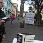 Torre de La Concepción y Feria del Libro