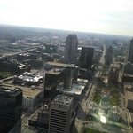Beautiful view from the top of the Arch! It's an amazing site.