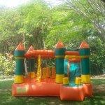 Castillo inflable para niños