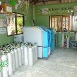 Sparkling clean compressor room