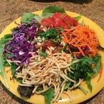 Secret Asian man salad