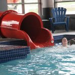 Exit Flue from the waterslide