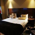 Chambre lit king size au 2ème étage