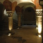 Bayeux cathedral - crypt
