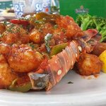 Lobster Cayman Style served like no other at @sunsethouse