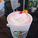 Custom Creamsicle bucket drink��