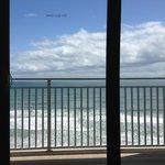 Vista da varanda do quarto