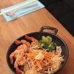 Phad Thaï crevettes