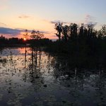 "Sunset on the ""prairie"""