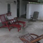 Large room, back patio