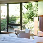View of the Japanese Garden from Deluxe Room