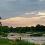 Sunset on the Maumee River