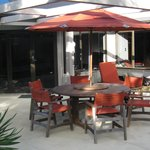 Enjoy our sun-drenched patio
