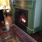 Gas Fireplace - Monroe Room