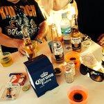 Coronas and jagger bombs !!!