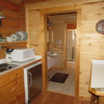 Cabin Kitchen Area
