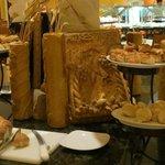 "Fresh baked Breads at the ""Casa Las Islas"" Bufet"