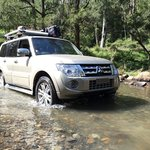 The Condamine River Road. You need an AWD.