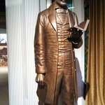 Lincoln statue in the museum