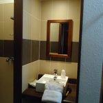 detalhe do banheiro