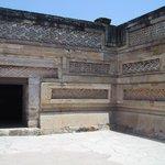 Mitla stone mosaic work