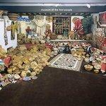 The Navajo Rug Room/Back Room at Len Wood's Indian Territory Gallery, Laguna Beach CA