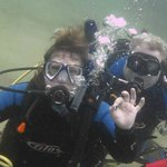 Wendy and Tom with PV Sea Dive