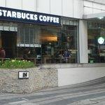 Starbucks Just Up he Street!