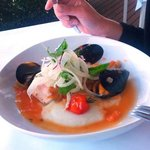 Trevalla and mussels