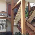 SeaHorse building staircase