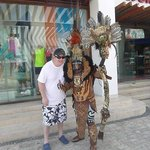 Photos by Donation in Playa Del Carmen (I gave him $5 US)
