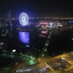 港側の夜景