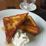 The French Toast a must try!