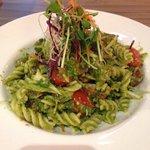 Smoked salmon pasta salad, always a favorite!