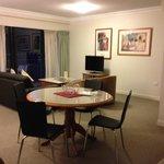 Living area - 2brm apartment