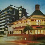 The beautiful Grand Hotel with Oaks Grand alongside