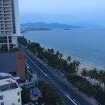 Sunset from my balcony @ InterContinental Nha Trang